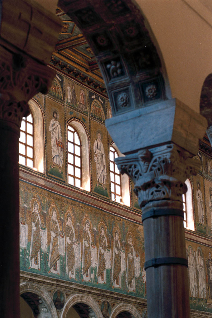 mosaico scene cristologiche