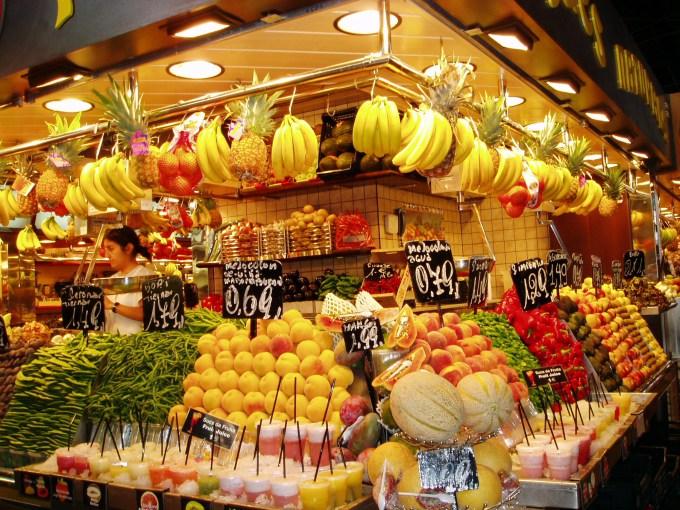 barcelona frutta boqueria