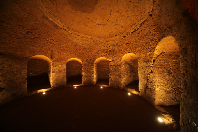 grotte tufacee entroterra riminese