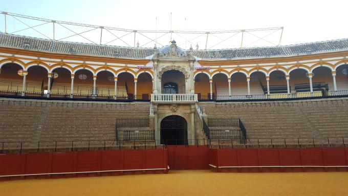 week-end a sevilla palco onore plaza de toros