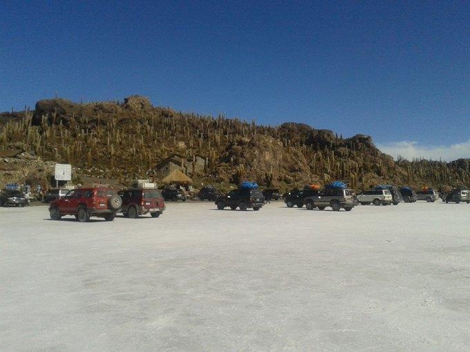 isla incahuasi nel cuore del deserto di sale salar de uyuni