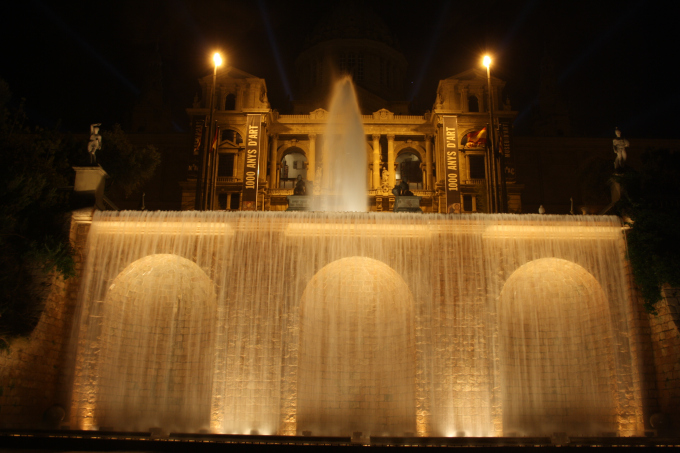 barcelona fontane magiche