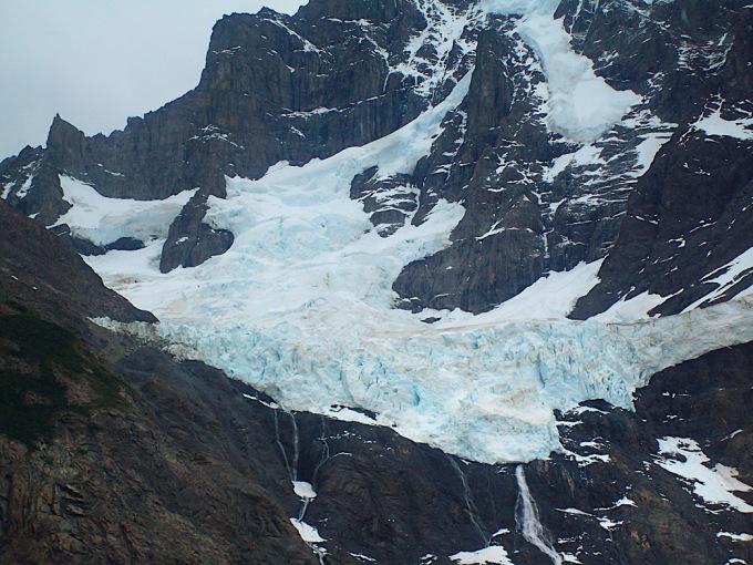 ghiacciaio perenne torres del paine