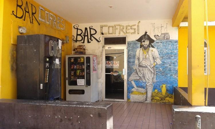 bar cofresi nel quartiere la perla del viejo san juan porto rico
