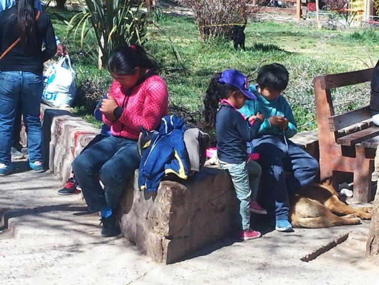 gente di tilcara provincia di jujuy
