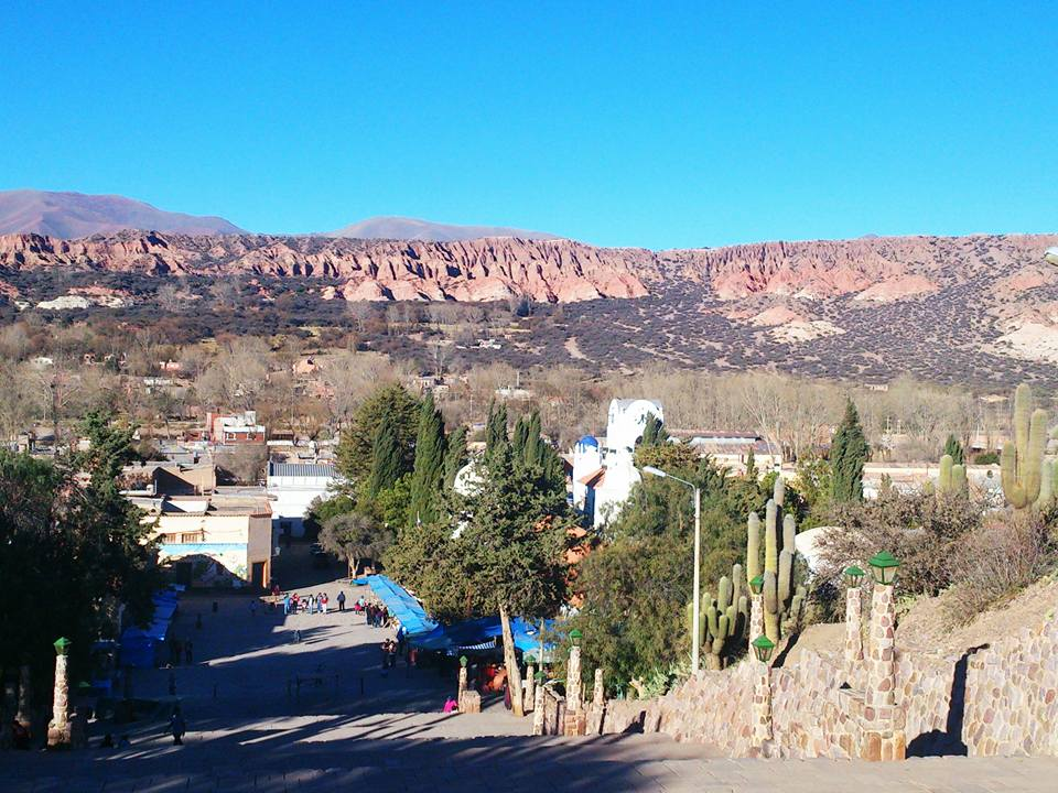panorama da humahuaca provincia di jujuy