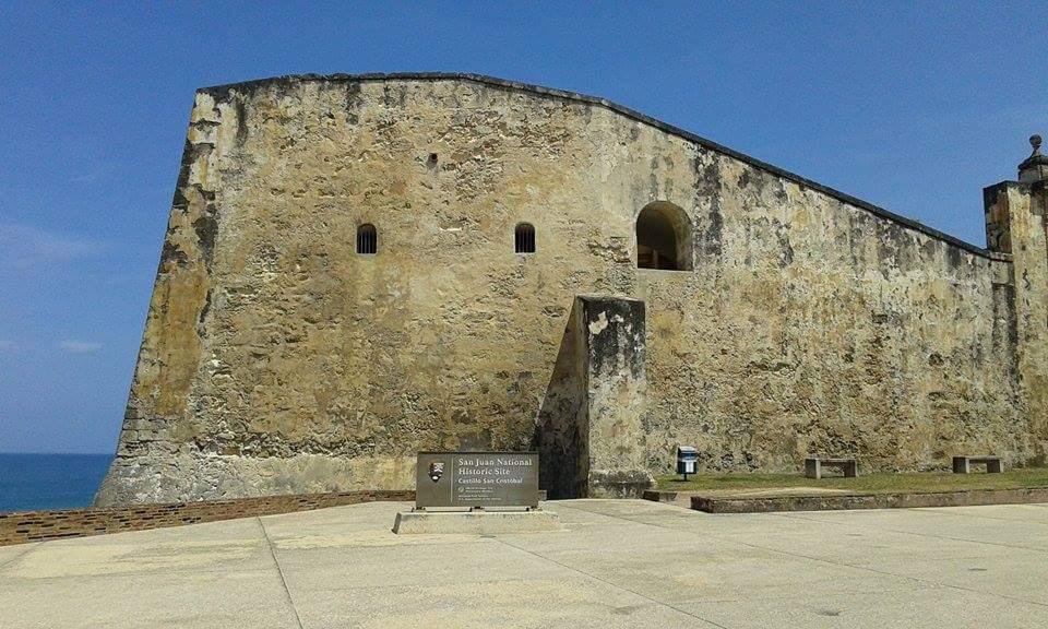 castello di san cristobal al viejo san juan de puerto rico