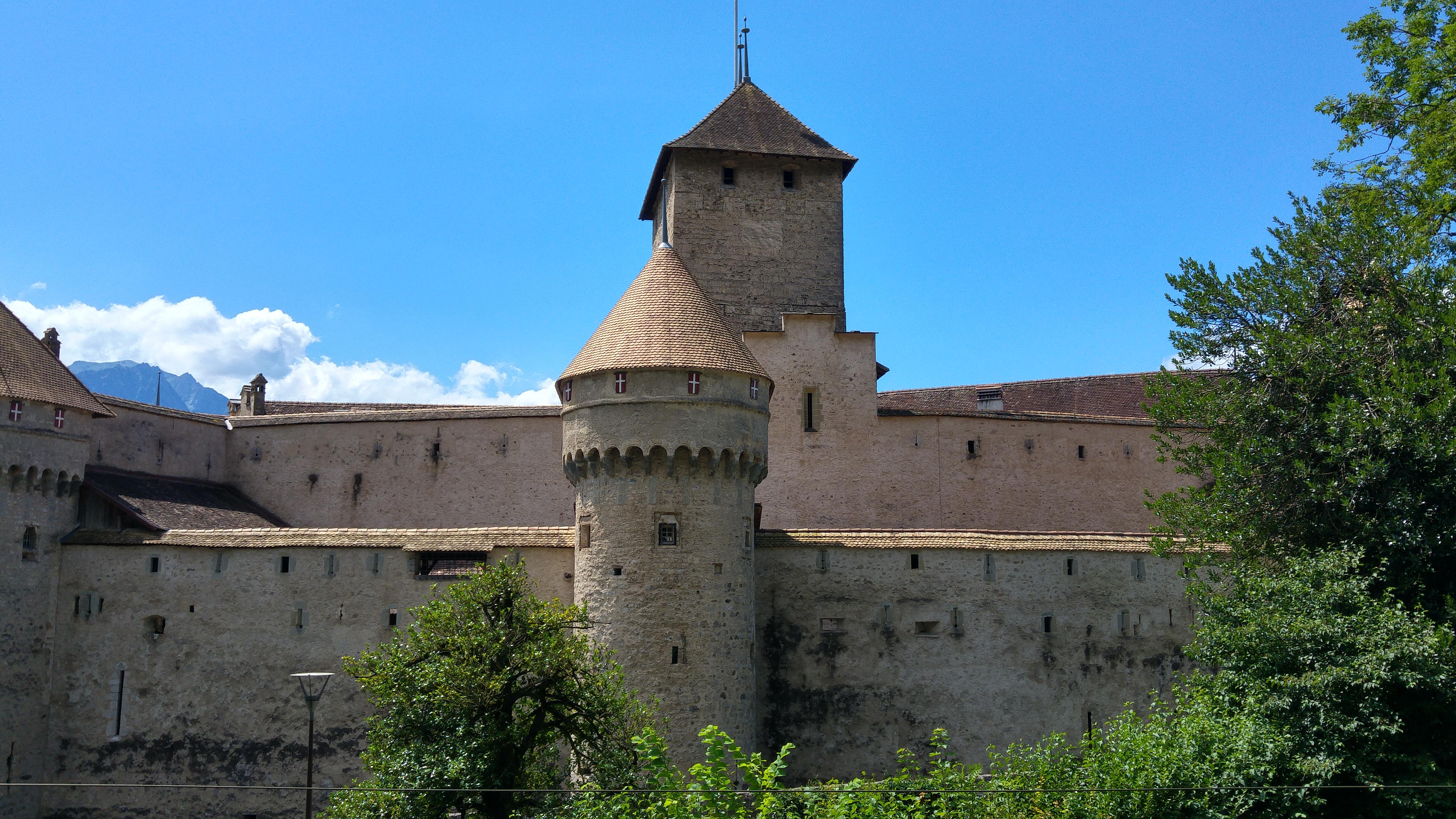 chateaux de chillon svizzera francese