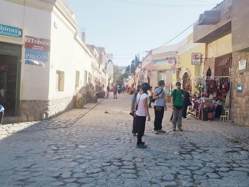 le vie di humahuaca provincia di jujuy
