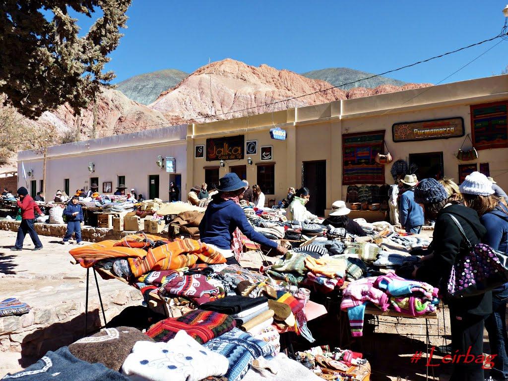 mercato a purmamarca provincia di jujuy