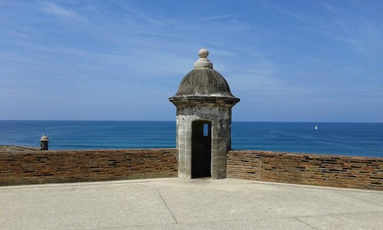castello de El Morro a San Juan de Porto Rico
