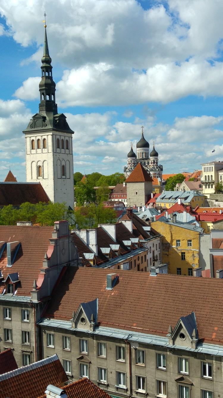centro storico di tallin estonia