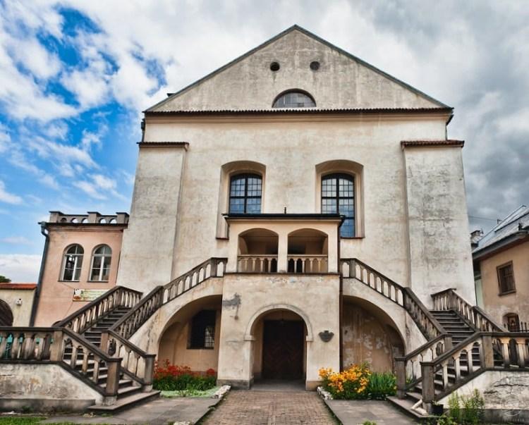 la sinagoga di izaak quartiere ebraico di cracovia in polonia