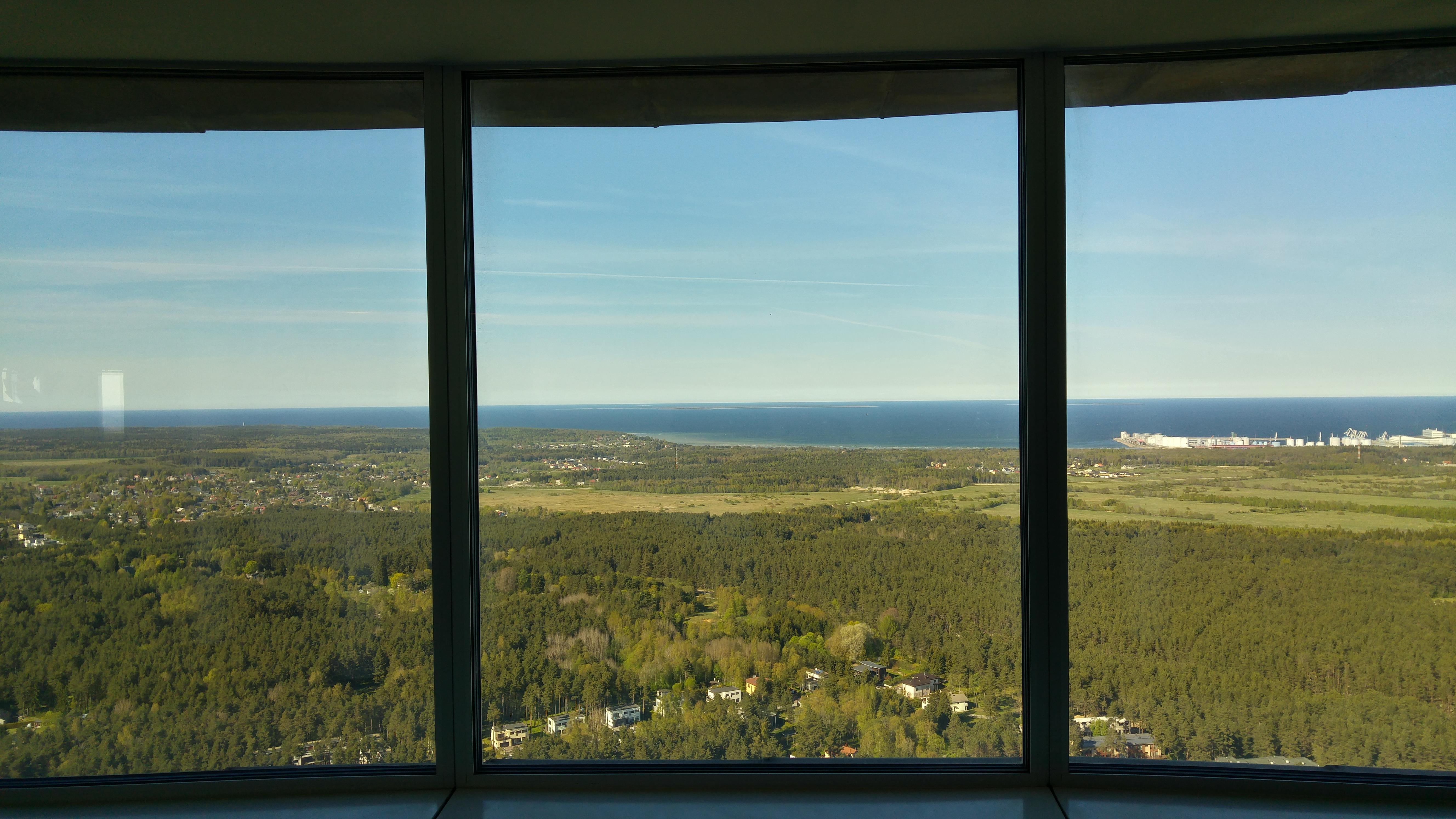 torre televisione tallin estonia