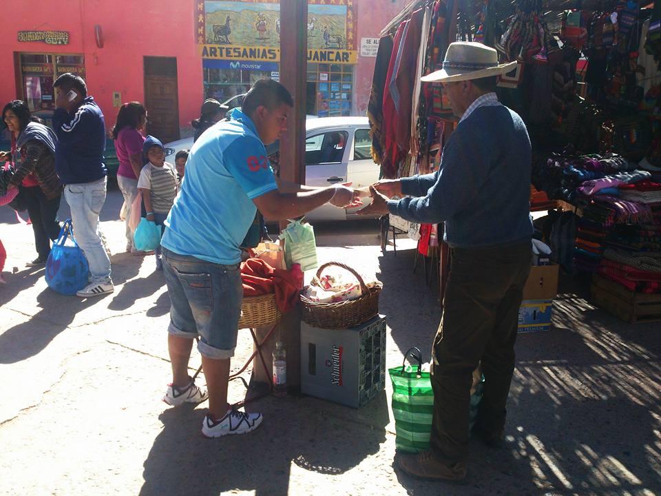 venditore ambulante tilcara provincia di jujuy
