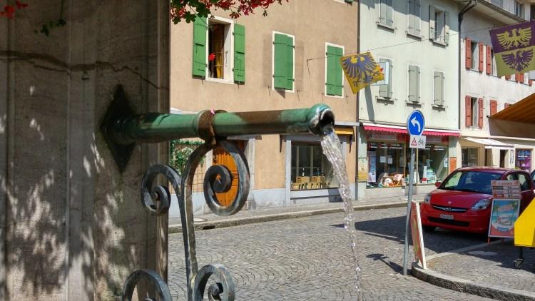 villeneuve nella svizzera francese