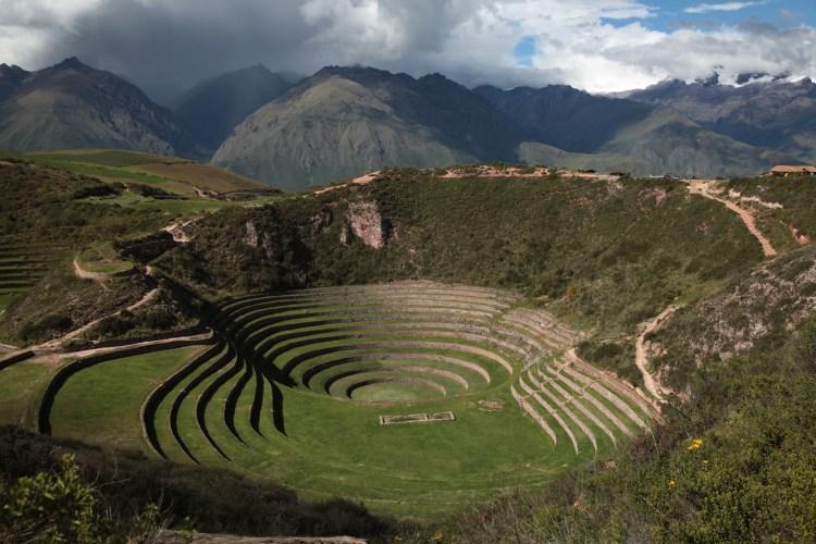 complesso archeologico di moray nella valle sacra