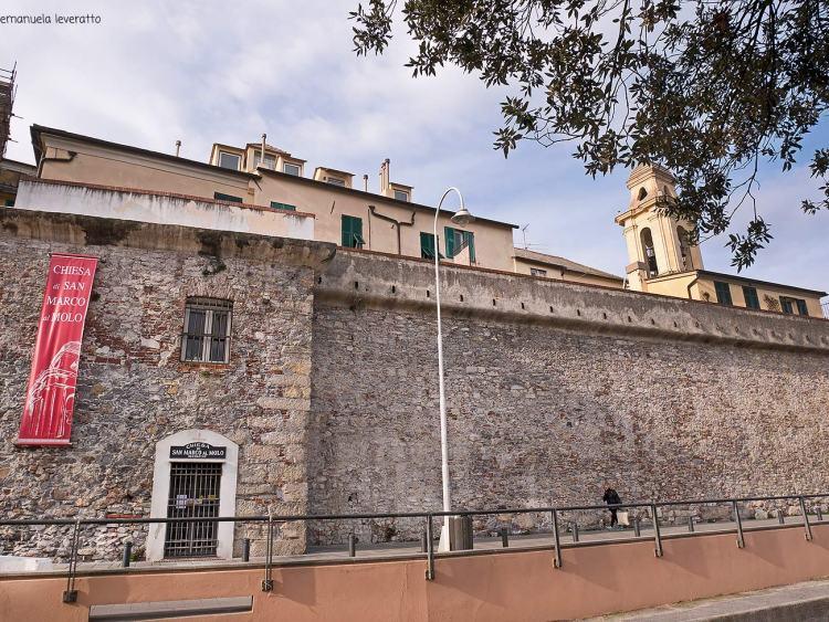 chiesa di san marco al molo porto antico di genova
