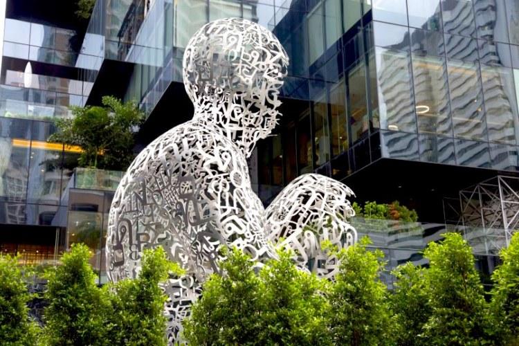scultura Bangkok Soul dell' artista Jaume Plensa