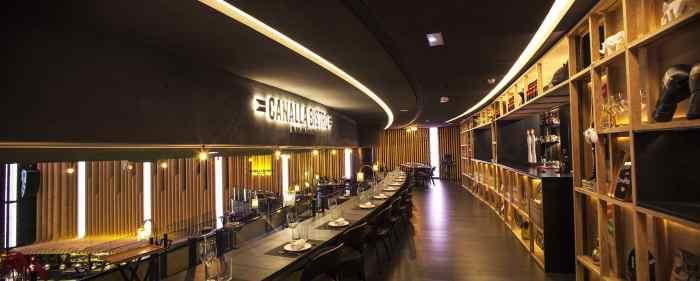 il canalla bistrot nello spazio gastronomico Platea Madrid