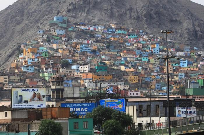 rimác è uno dei quartieri di Lima più popolari