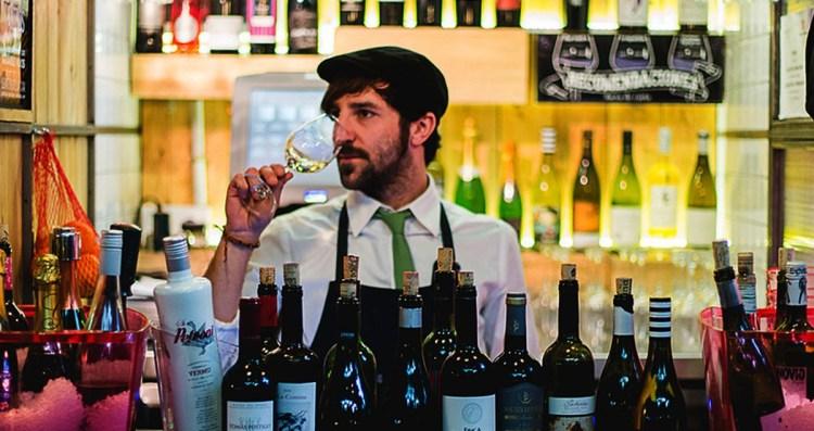 Divinus. Despacho de vinos al Mercado de San Ildefonso