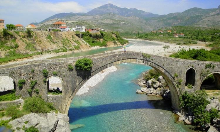 il Ponte di Mezzo (Ura e Mesit) di Scutari