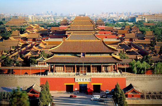 la corte interna della Città Proibita di Pechino