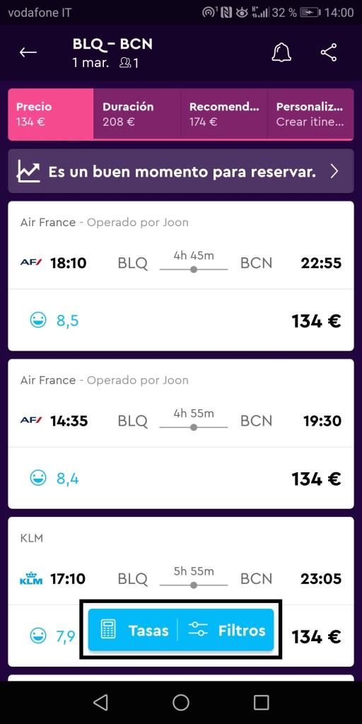 prenota biglietti aerei low cost con momondo