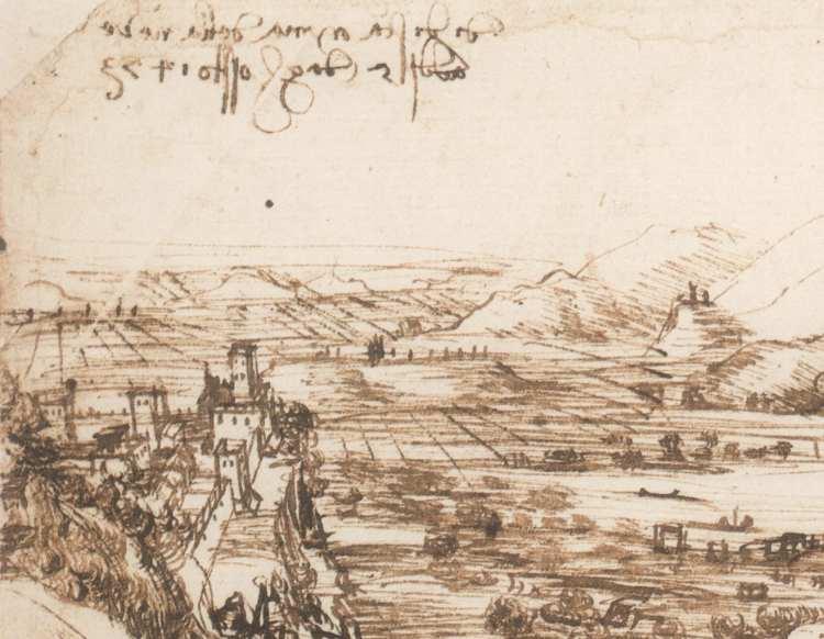 mostra de paesaggio al museo della battaglia e di anghiari