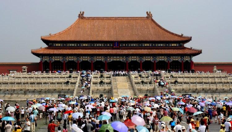 il Palazzo della Suprema Armonia nella Città Proibita di Pechino