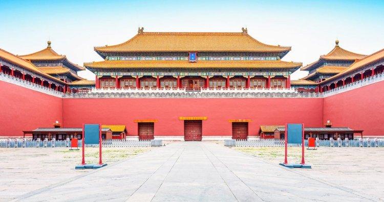 la porta meridiana della Città Proibita di Pechino