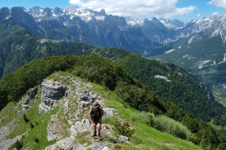 trekking nelle alpi albanesi