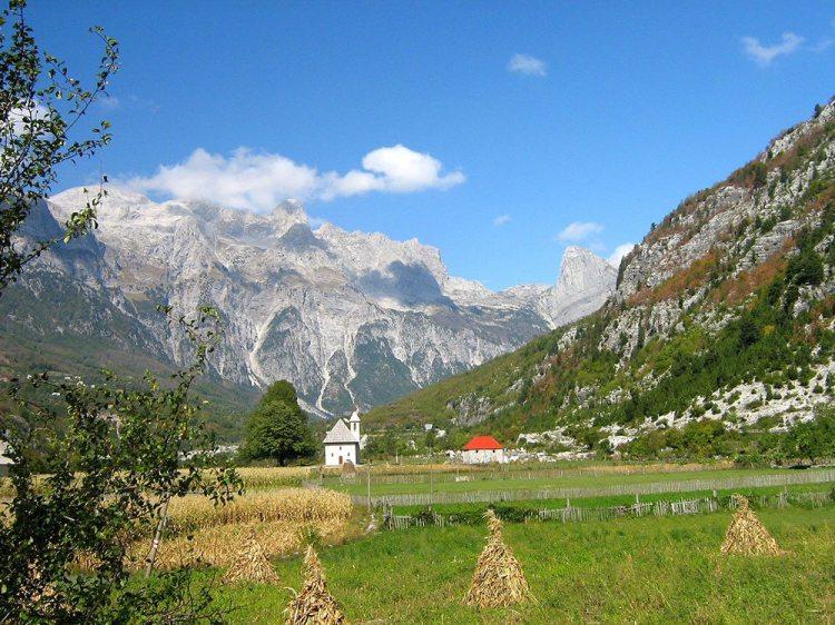 l'area di vermosh nel cuore delle alpi albanesi