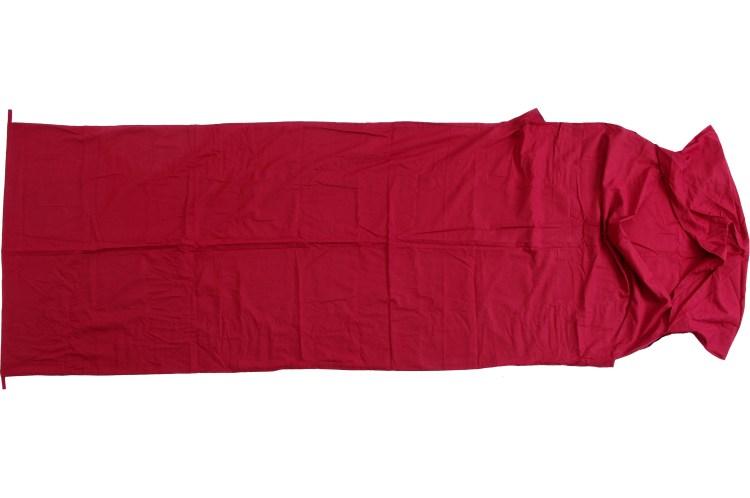 Il sacco lenzuolo per il sacco a pelo