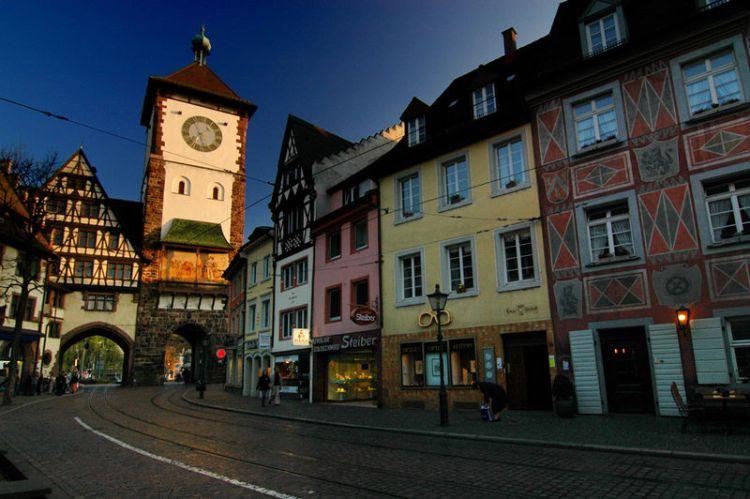 La Schwabentor Porta degli Svevi di Friburgo