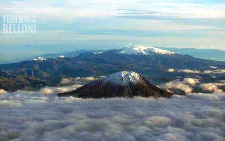 Il panorama del parque nacional natural los nevados