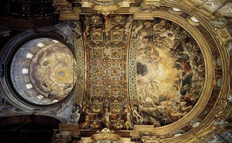 affreschi rinascimentali a Santa Maria della Steccata