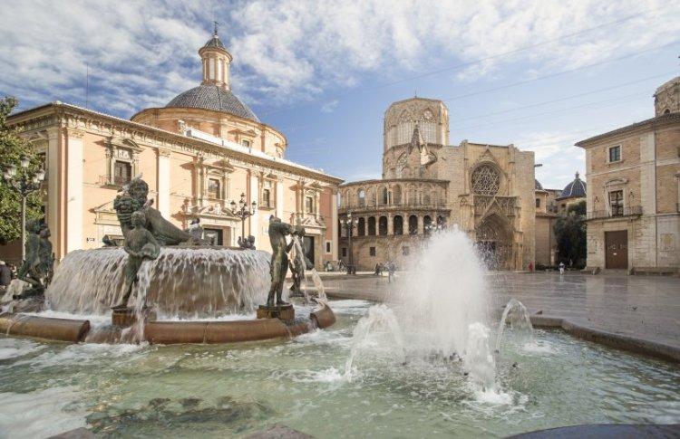 la catedral de valencia dove è custodito il Santo Graal
