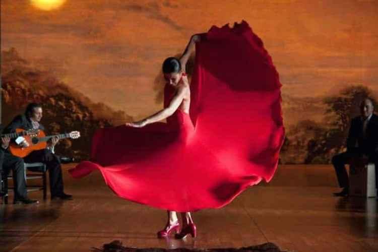 esibizione al Museo del Baile Flamenco