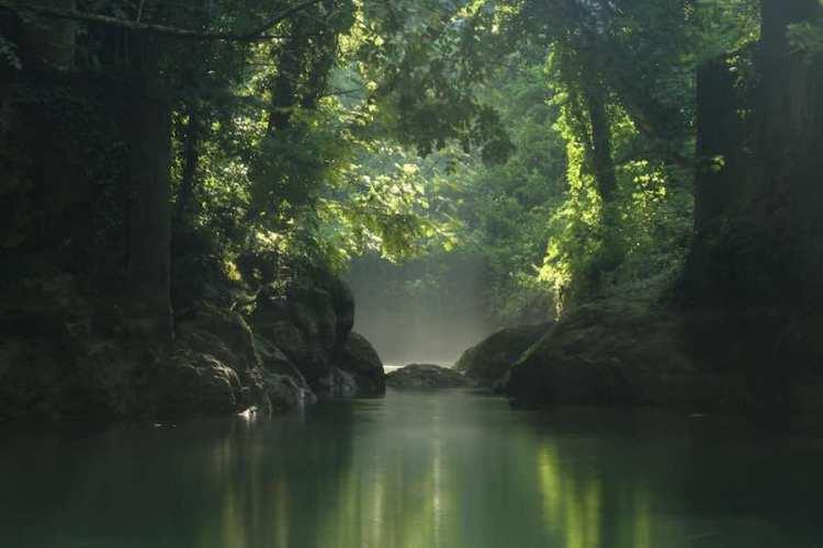il percorso di river walking alle cascate delle marmore