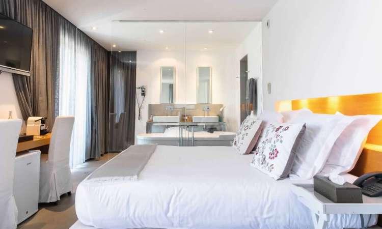 camera dell'hotel le mandla uno dei migliori hotel a saint tropez