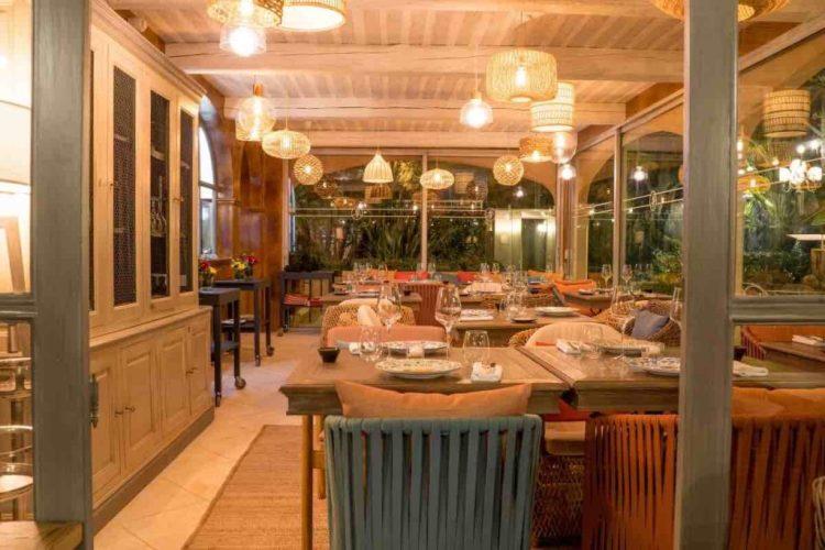 il ristorante de la bastide de Saint-Tropez, uno dei migliori hotel a saint tropez