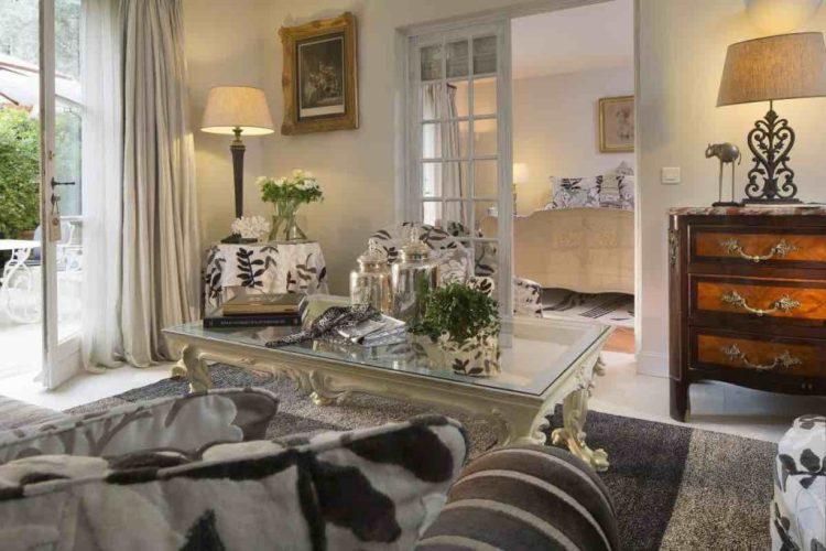 una suite de la bastide de Saint-Tropez, uno dei migliori hotel a saint tropez