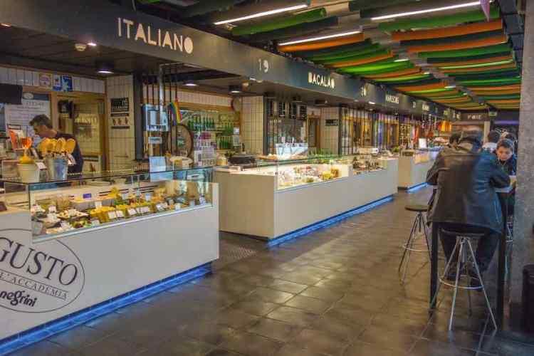 mangiare a madrid al mercado de san anton