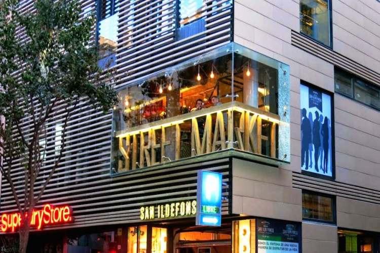 il mercado de san ildefonso la mecca dello street food market di madrid