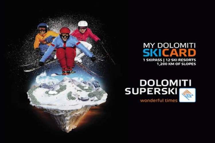 mydolomiti skicard: la tessera ricaricabile del dolomiti superski