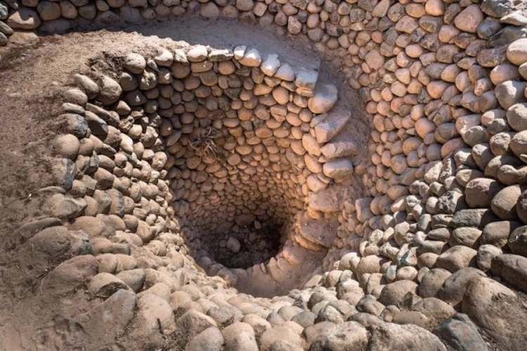 l'acquedotto di cantalloc nei dintorni di nazca