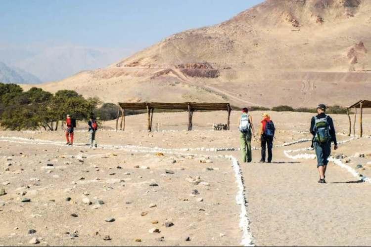 il percorso di visita al cimitero di chauchilla vicino a nazca