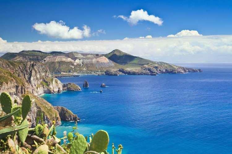 panoramica di lipari arcipelago delle eolie sicilia